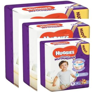 HUGGIES TRIO PACK MUTANDINO 6   15-25KG