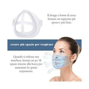 RESPIRO SUPPORTO 3D MASCHERINA