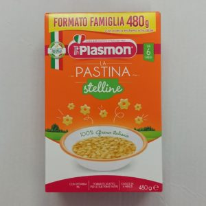 PLASMON PASTINA STELLINE 480GR